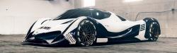 Seznamte se s nejrychlejším autem budoucnosti: Devel Sixteen má jet až 560 km/h