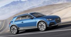 Audi Allroad shooting brake! Koncept chystaného kupé TT