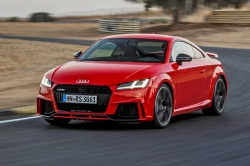 Audi ukázalo své nejostřejší kupé, nová verze TT RS nabídne 400 koní