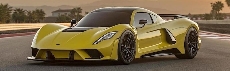 Venom F5 se k nám dostaví už příští rok, plánuje bourat rekordy!