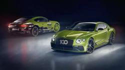 Bentley odhalilo speciální edici, prim hraje noční zelená