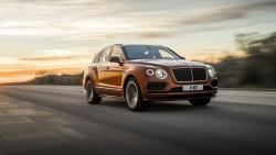 Přepychový Bentley Bentayga byl jmenován nejrychlejším SUV světa