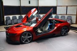 V čem jezdí princezny? Al Hawi z Abú Zabí si vybrala za své auto BMW i8
