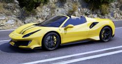 Ferrari opět uchvátilo své zákazníky. Model 488 Pista Spider je kompletně bez střechy