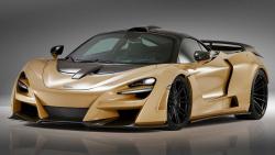 McLaren 720S si prošel tuningovou úpravou, jede až 350 km/h