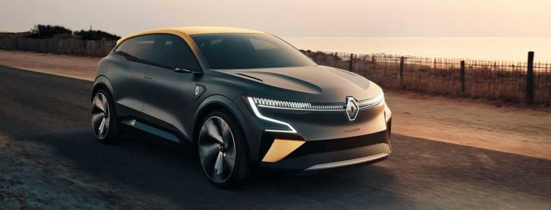 Renault Mégane eVision – působivý nádech budoucnosti