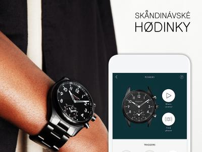 Skandinávské hodinky